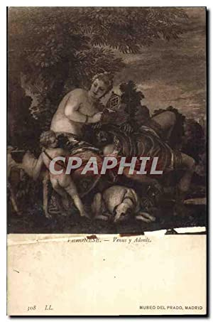 Carte Postale Ancienne Museo del Prado Madrid