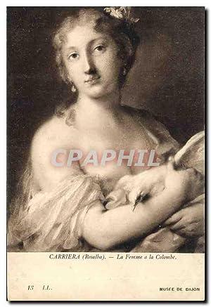 Carte Postale Ancienne Carriera Rosalba la Femme