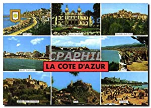 Carte Postale Moderne La Cote d'Azur Menton