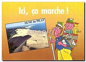 Carte Postale Moderne Ocean Atlantique Pyla sur