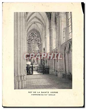 Carte Postale Moderne Nef de la Sainte