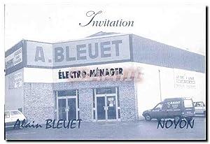 Carte De Visite Alain Bleuet Noyon Electromenager