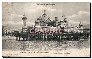 Carte Postale Ancienne Nice la Jetée Promenade