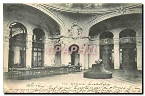 Carte Postale Ancienne Vichy Hall du Casino