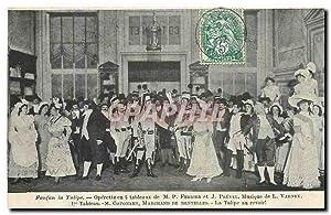 Carte Postale Ancienne Fanfan la Tulipe Operette