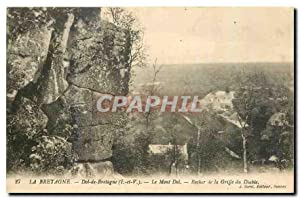 Carte Postale Ancienne La Bretagne Dol de
