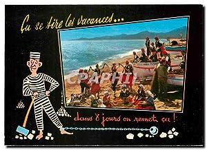 Carte Postale Moderne Folklore et Couleurs du