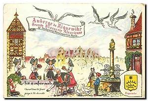 Carte Postale Moderne Auberge de Riquewihr Grande