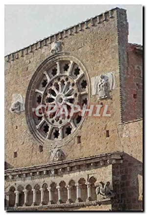 Carte Postale Moderne Tuscania Basillica di San