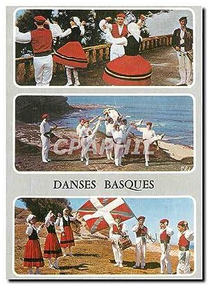 Carte Postale Moderne Danses Basques Le Fandango