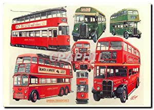 Carte Postale Moderne London's transport at the start of the new decade