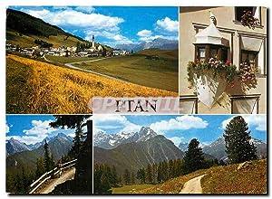 Carte Postale Moderne Ftan Engadin