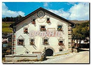 Carte Postale Moderne Switzerland Engadiner Haus in