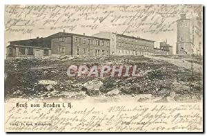 Carte Postale Ancienne Gruk vom Brocken