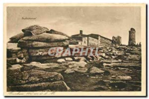 Carte Postale Ancienne Teufelskanzel Brocken