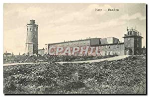 Carte Postale Ancienne Harz Brocken