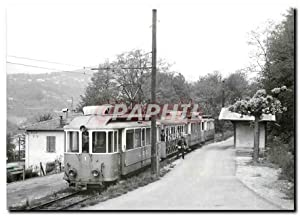 Carte Postale Ancienne Train descendant a la