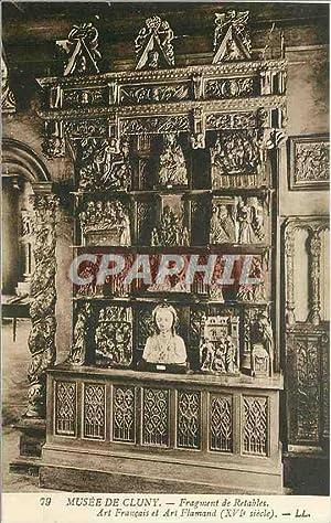 Carte Postale Ancienne MUSEE DE CLUNY-Fragment de