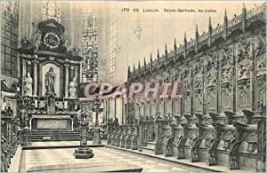 Carte Postale Ancienne Louvain Sainte Gertrude les