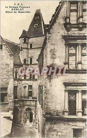 Carte Postale Ancienne La Dordogne Pittoresque-SARLAT-Hôtel de