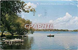 Carte Postale Moderne Greetings from Shell Lake Wis
