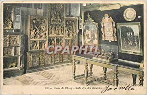 Carte Postale Ancienne Musee de Cluny Salle