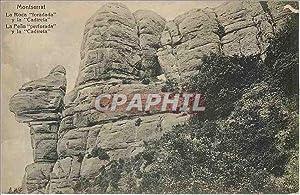 Carte Postale Ancienne Montserrat - la Roca