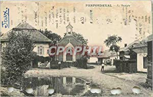 Carte Postale Ancienne Parfondeval le Temple