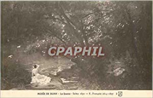 Carte Postale Ancienne Musee de Dijon La