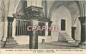 Carte Postale Ancienne Jerusalem Le cenacle au