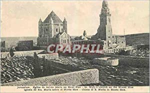 Carte Postale Ancienne Jerusalem Eglise de Sainte