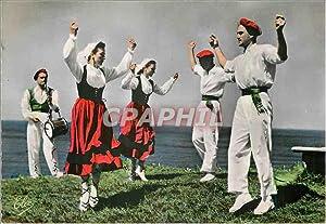 Carte Postale Moderne Ballets Basques de Biarritz
