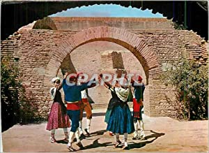 Carte Postale Moderne Sardane en pays Catalan