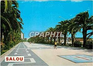 Carte Postale Moderne Salou Promenade Jaime I