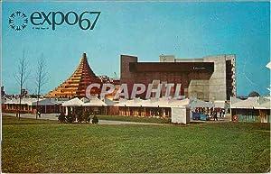 Carte Postale Moderne Montreal Canada Expo 67