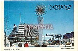 Carte Postale Moderne Expo67 Pavillon de la