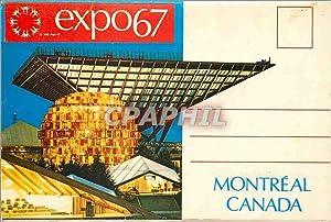 Carte Postale Moderne Expo67 Montreal Canada