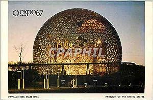Carte Postale Moderne Expo67 Pavillon des Etats