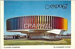 Carte Postale Moderne Expo67 Le Pavillon Kaleidoscope