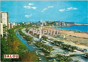 Carte Postale Moderne Salou vue Panoramique