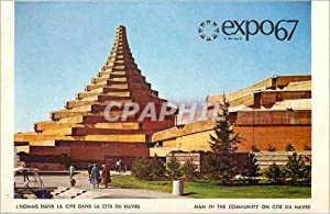 Carte Postale Moderne Expo67 L'Homme dans la