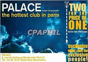 Carte Postale Ancienne Palace Night club paris