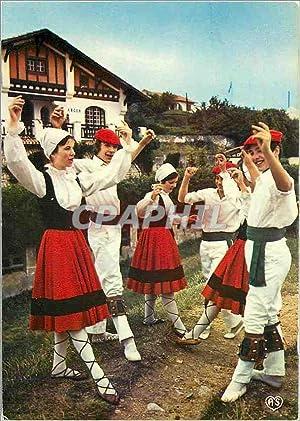 Carte Postale Moderne Folklore Basque Fandango