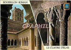 Carte Postale Moderne Roussillon Roman Le Cloître