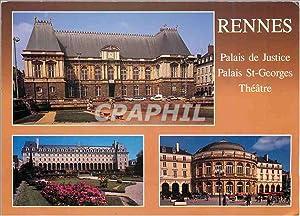 Carte Postale Moderne Rennes Ille et Vilaine