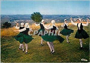 Carte Postale Moderne Folklore Basque Pyr Atl