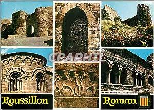 Carte Postale Moderne Roussillon Roman