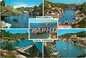 Carte Postale Moderne Mallorca Cala Figuera