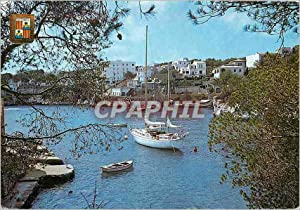 Carte Postale Moderne Mallorca Cala Figuera Detaîle