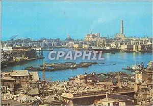 Carte Postale Moderne Genova le port